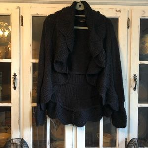 Bcbg black cardigan